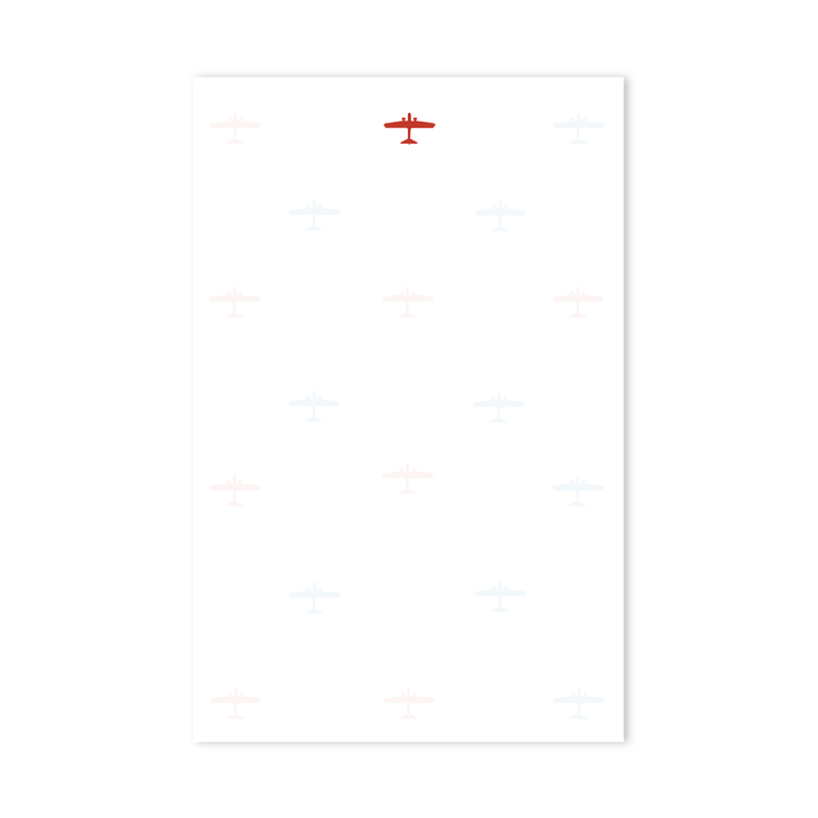 Airplane Notepad
