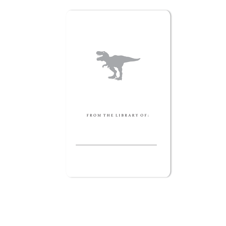 Dinosaur Bookplates