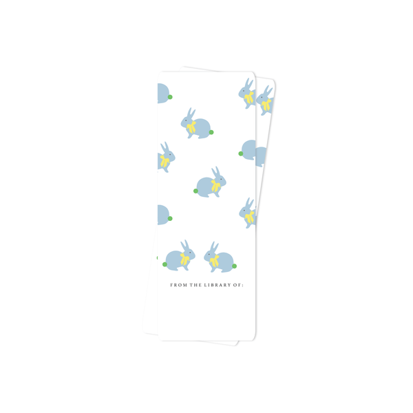 EASTER BOOKMARK, BLUE BUNNY