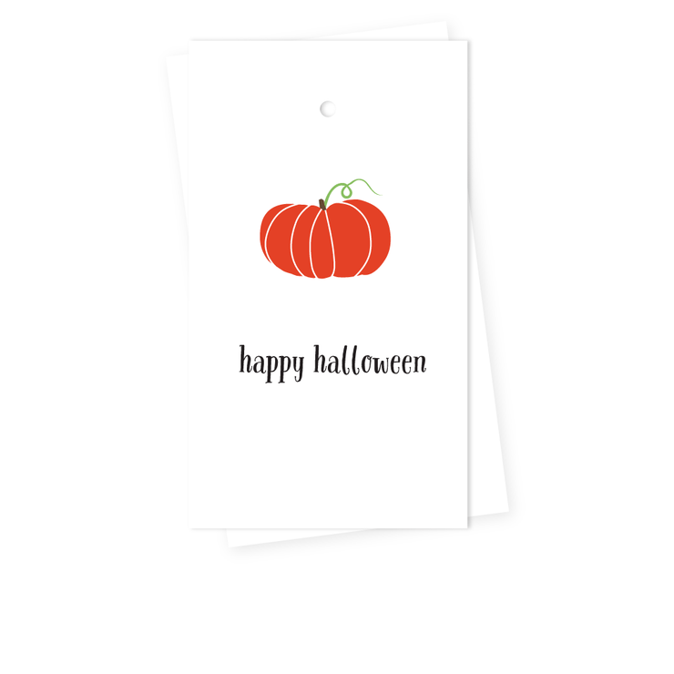Pumpkin Gift Tags