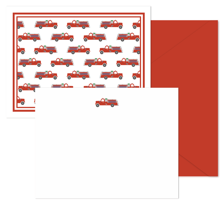 Fire Truck Stationery
