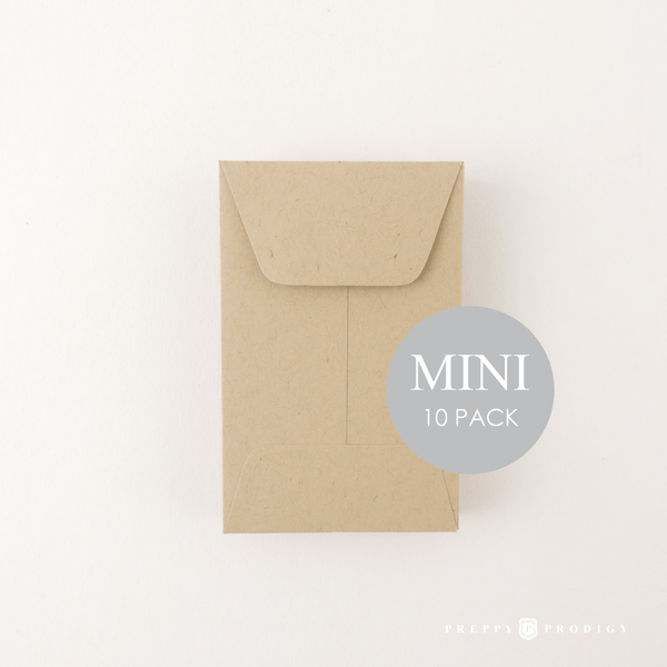 MINI PAPER BAG ENVELOPES