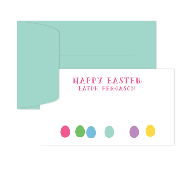 EASTER EGGS GIFT ENCLOSURE