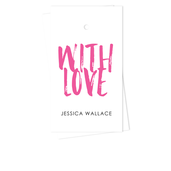WITH LOVE GIFT TAGS