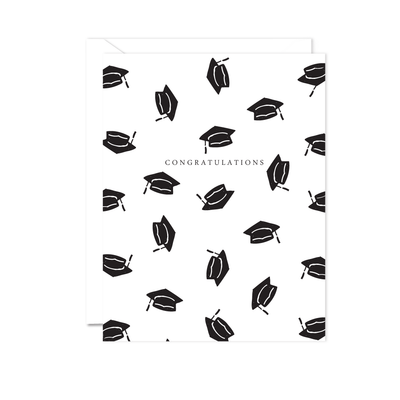 Graduation Hats Card