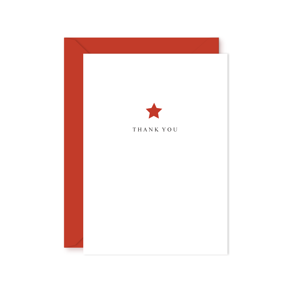 STARS THANK YOU NOTE