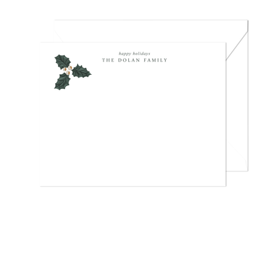 Holly Stationery