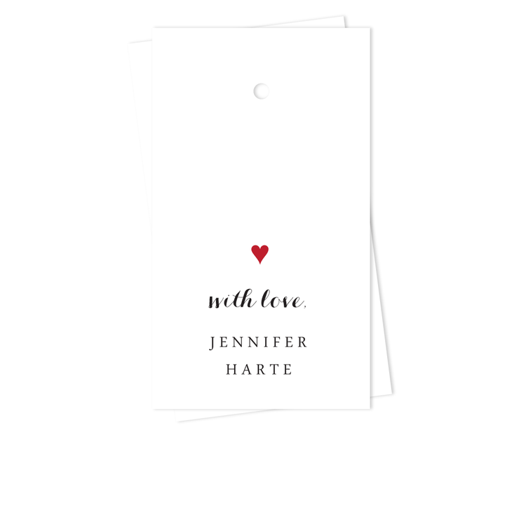 Good Hearted Gift Tags