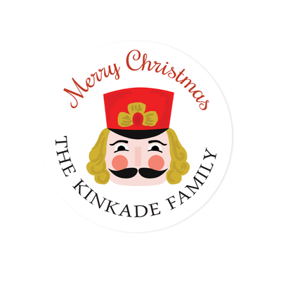 Nutcracker Holiday Stickers