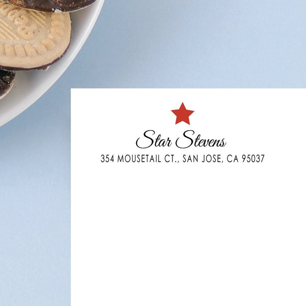 STAR ADDRESS LABELS