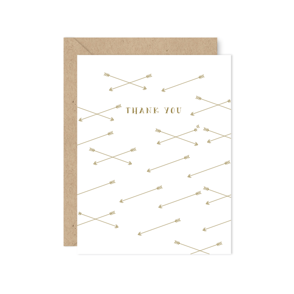 ARROWS THANK YOU NOTE