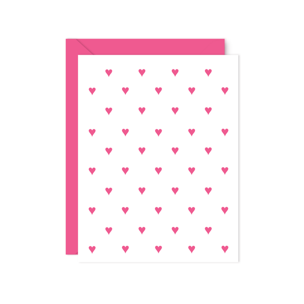 PREPPY HEARTS THANK YOU NOTE