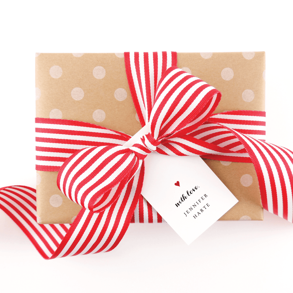 GOOD HEARTED GIFT TAG