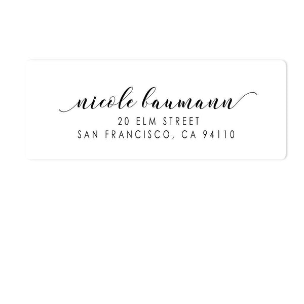 PERFECT PENMANSHIP ADDRESS LABELS