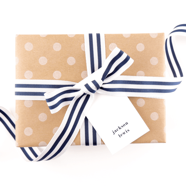 SIMPLICITY GIFT TAG