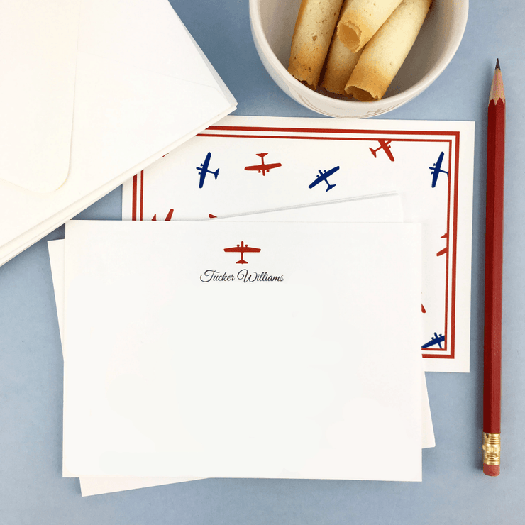 Airplane Stationery