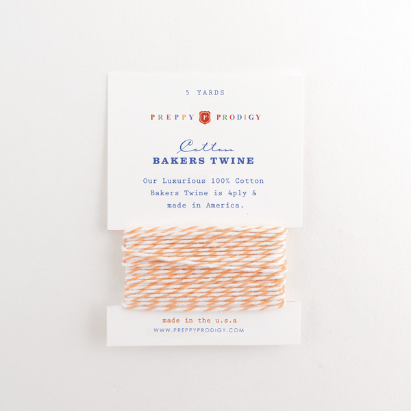 BAKERS TWINE, PEACH