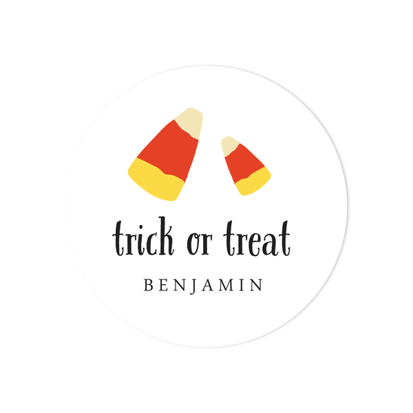 HALLOWEEN CANDY CORN STICKERS
