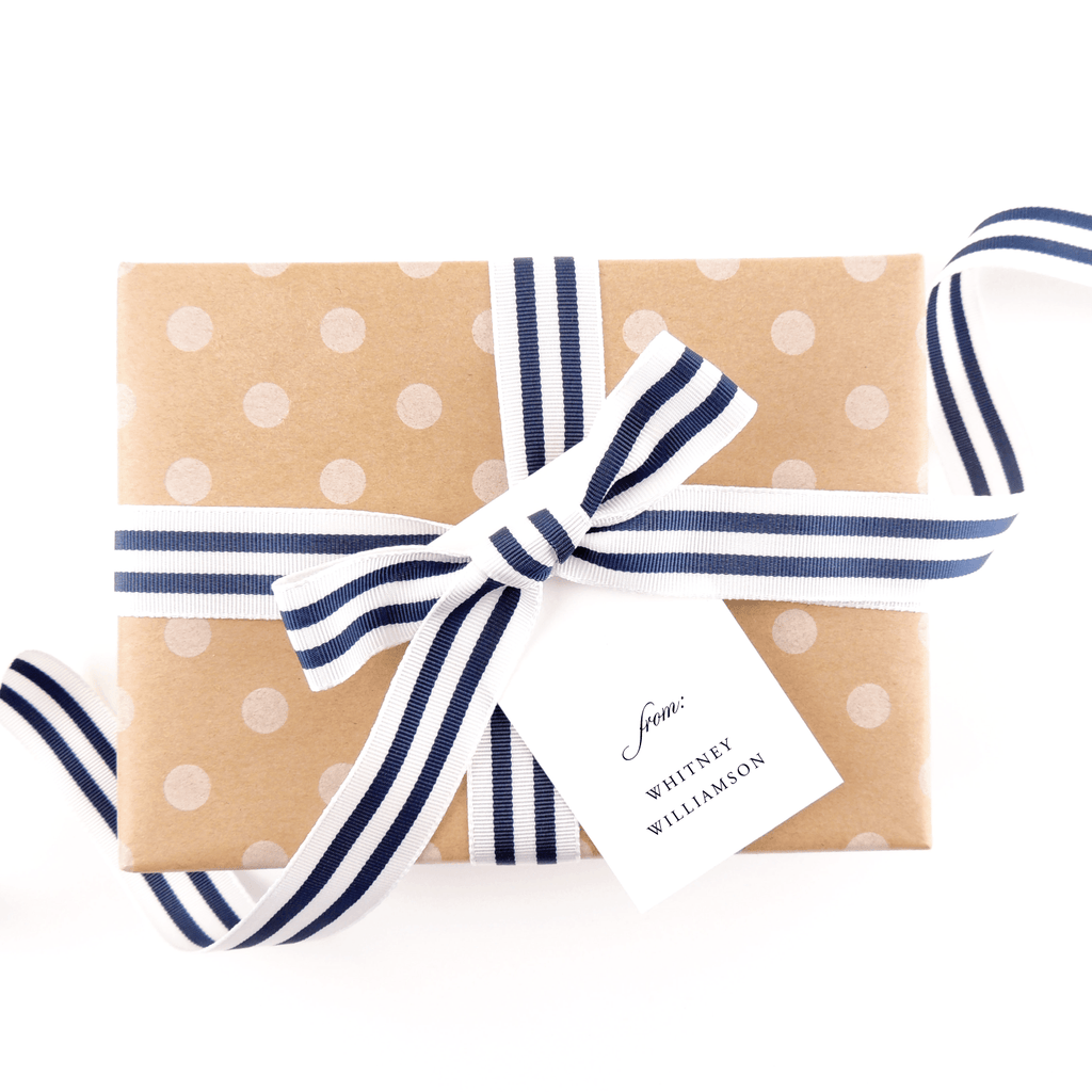 Qualified Gift Tags
