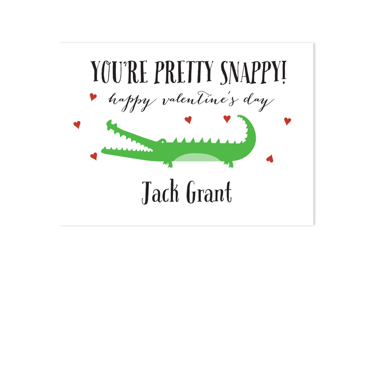 Valentines - Alligator
