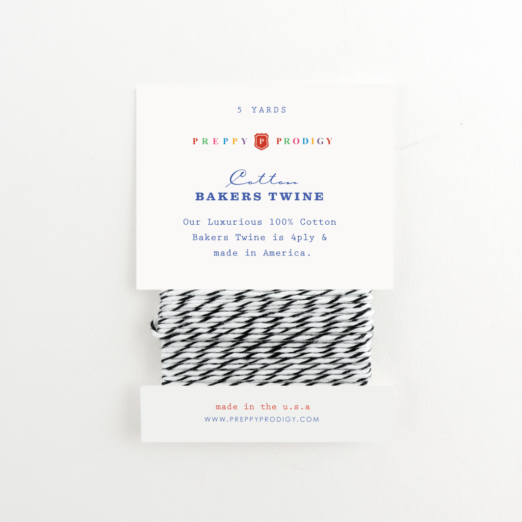 BAKERS TWINE, BLACK