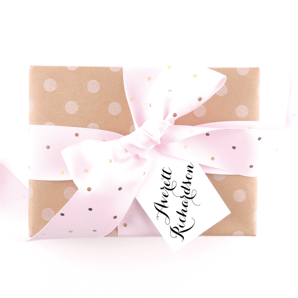 FULFILLMENT GIFT TAG