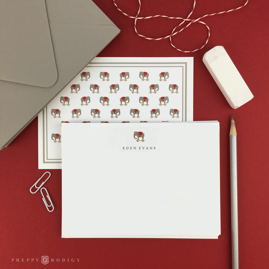 TOY ELEPHANT STATIONERY