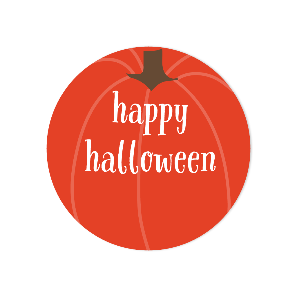 HALLOWEEN PUMPKIN STICKERS