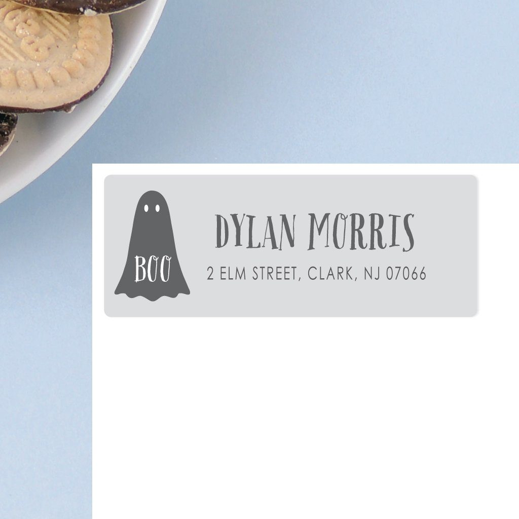 GHOST ADDRESS LABELS