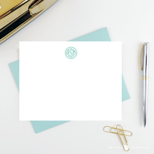 CIRCLE MONOGRAM STATIONERY