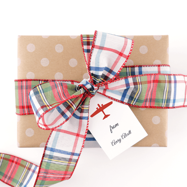 Airplane Gift Tags
