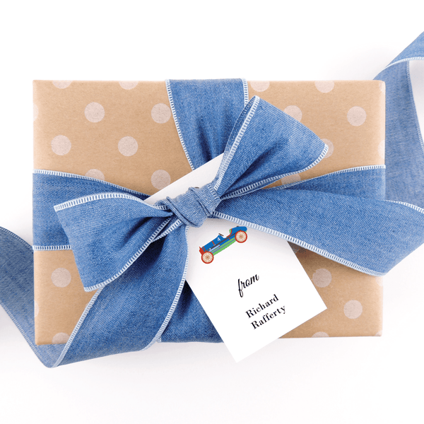 Race Car Gift Tags