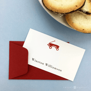 Red Wagon Gift Enclosures