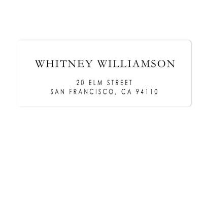 Qualified Address Labels