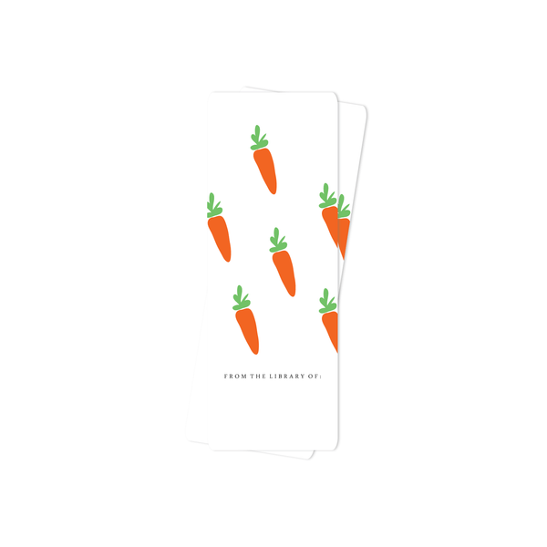 EASTER BOOKMARK, CARROTS