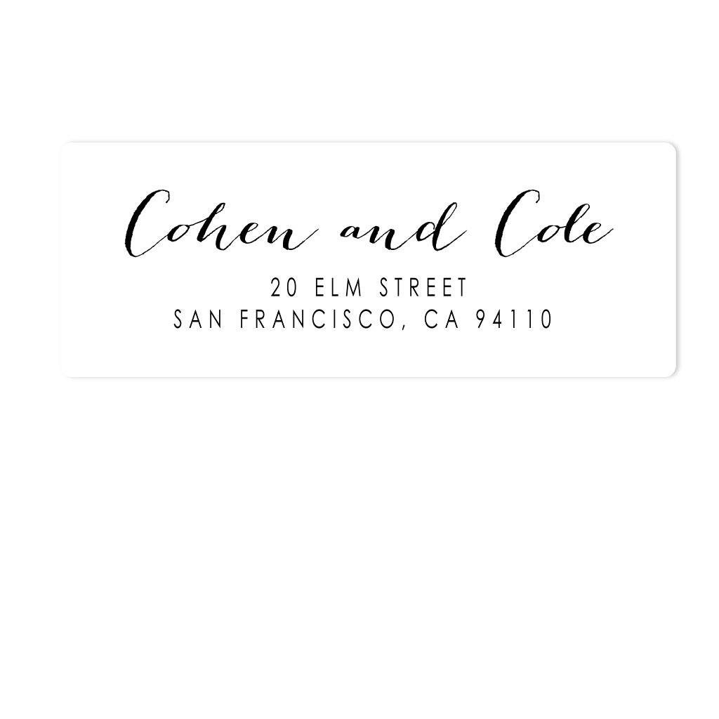 HANDWRITTEN ADDRESS LABELS