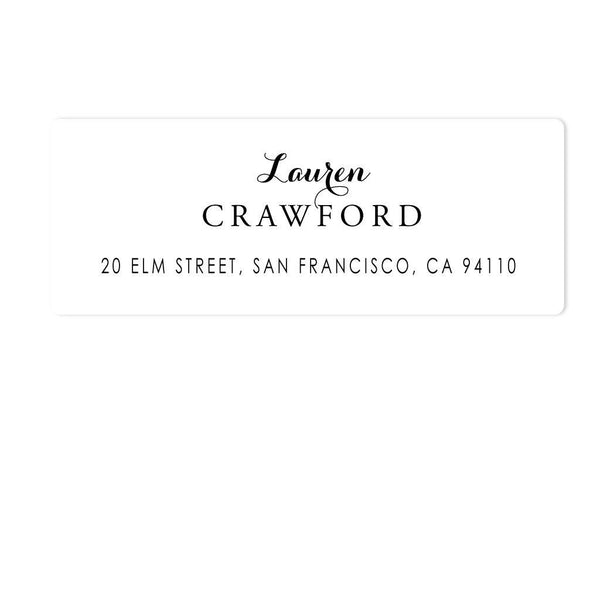 GRACEFUL ADDRESS LABELS