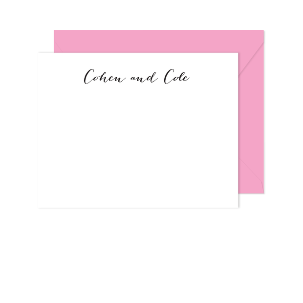 Hand Written Stationery