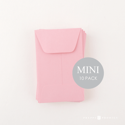 Mini Pink Envelopes