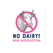 No Dairy Name Labels