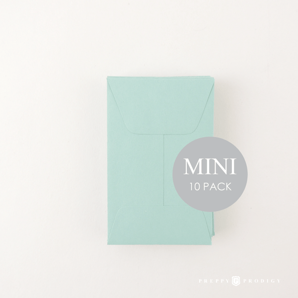 MINI AQUA ENVELOPES