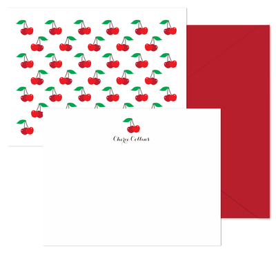 Cherries Stationery