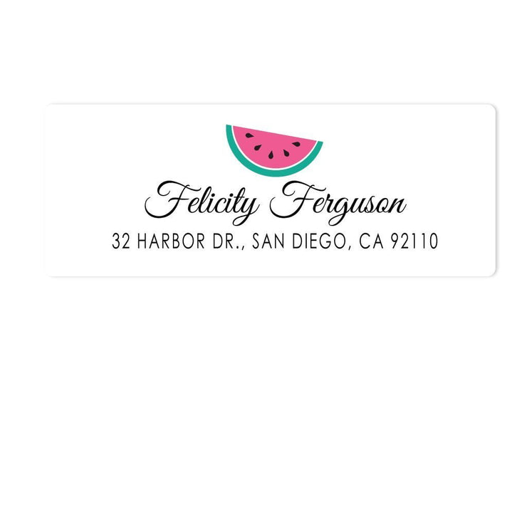 Watermelon Address Labels