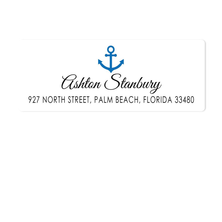 Anchor Address Labels