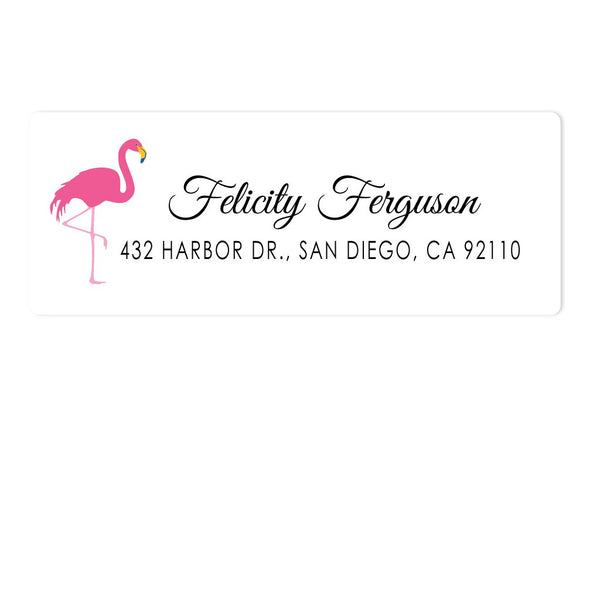 FLAMINGO ADDRESS LABELS