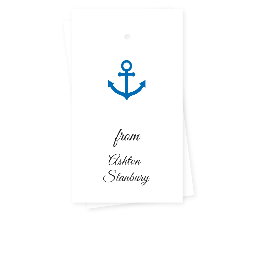ANCHOR GIFT TAGS