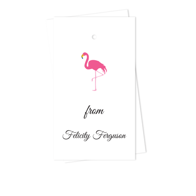Flamingo Gift Tags