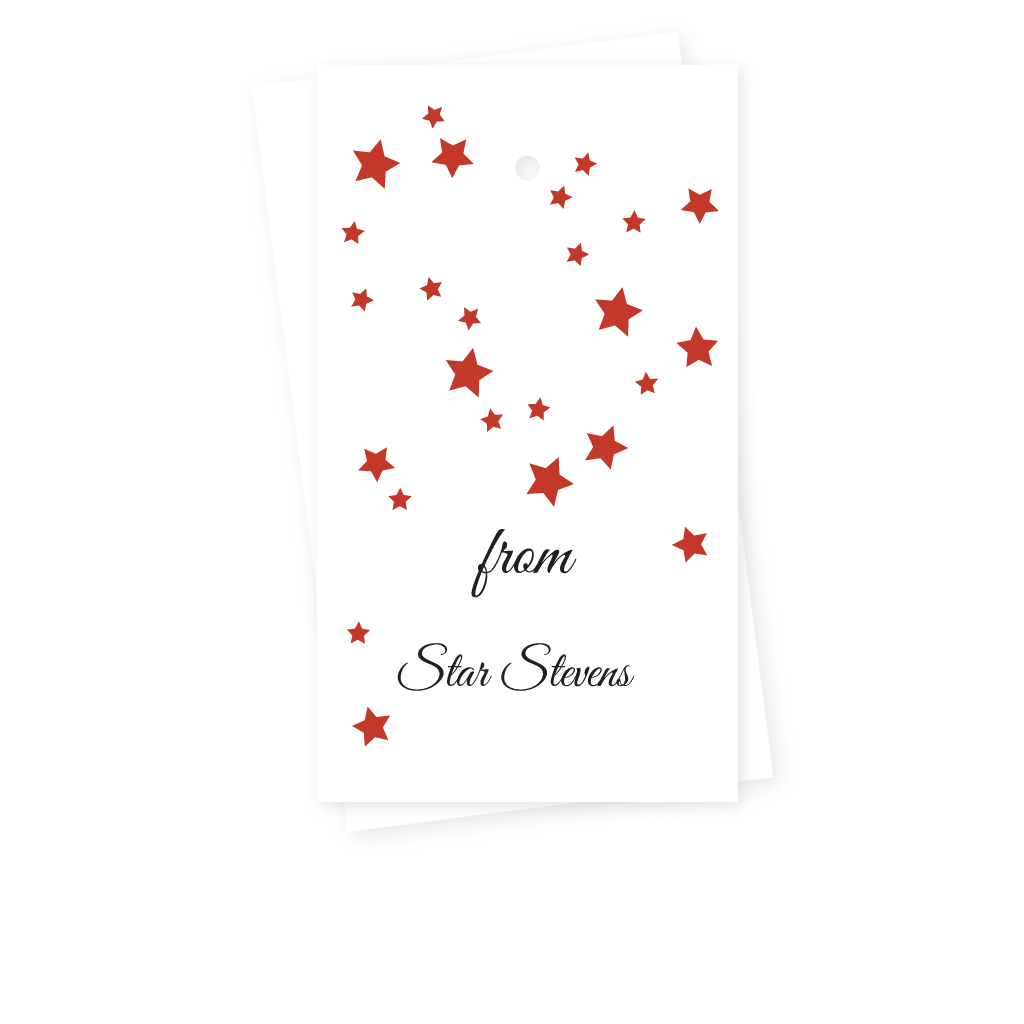 STARS GIFT TAGS