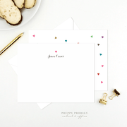 Floating Hearts Stationery