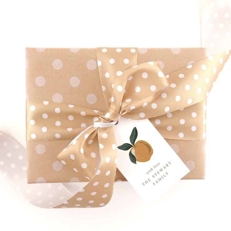 Fruit Gift Tags